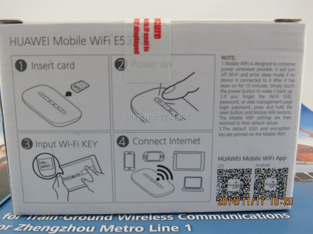 Huawei Mobile WiFi E5330Bs 2 FastBoot 5sec , factory