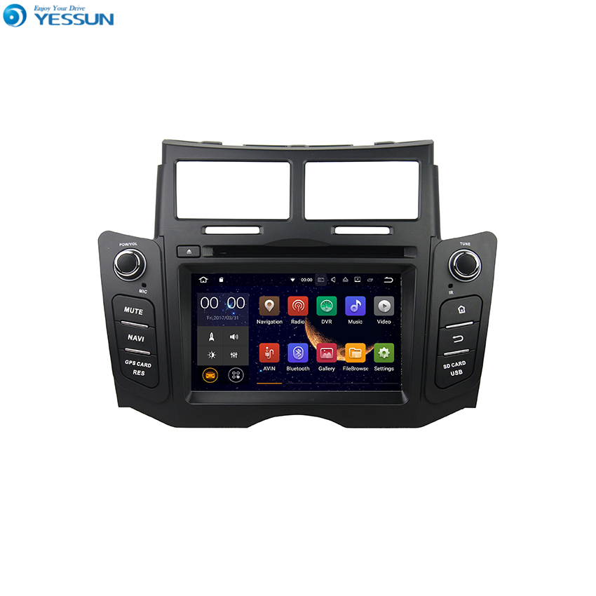 YESSUN Android Radio Car DVD Player For Toyota Yaris 2005~2011 Stereo Radio Multimedia GPS Navigation With WIFI Bluetooth AM/FM