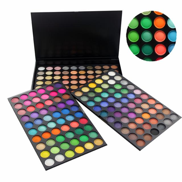 Professional 180 cores da paleta da sombra maquiagem cosméticos Set paleta de maquiagem frete grátis