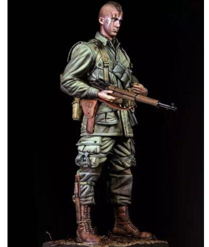 New Unassembled 1 9 200mm US Army 82 Airborne Division Resin Kit DIY figure Unpainted resin