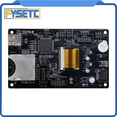 visor da impressora 3d tft35 v10 tela