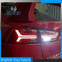 Для Mitsubishi Lancer EX светодиодный световой DRL 2008 2014 задний фонарь