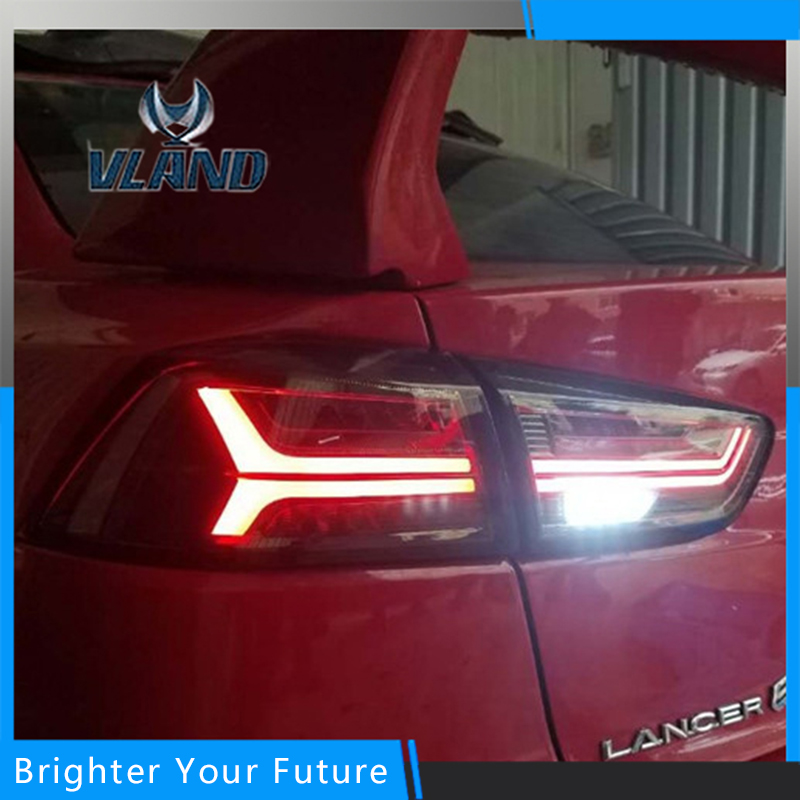 For Mitsubishi Lancer EX LED lightbar DRL 2008 2014 Tail Lamp