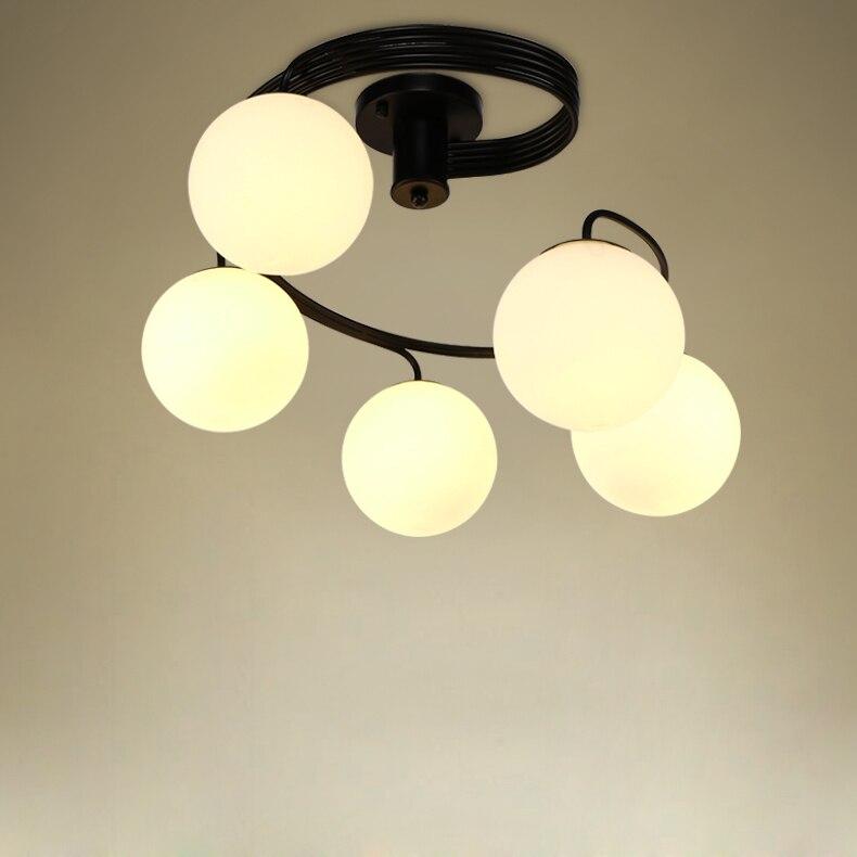 LED American ceiling bedroom lights living room restaurant lights modern minimalist art children s room lamps lighting