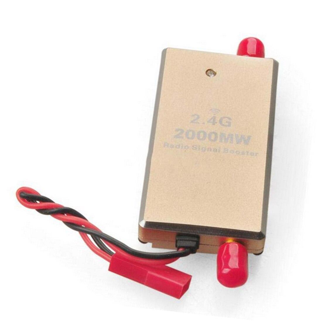 FPV 2.4G 2W 2000mW Mini Radio Signal Booster Amplifier Module for Phantom RC Transmitter FPV Extend Range цена и фото