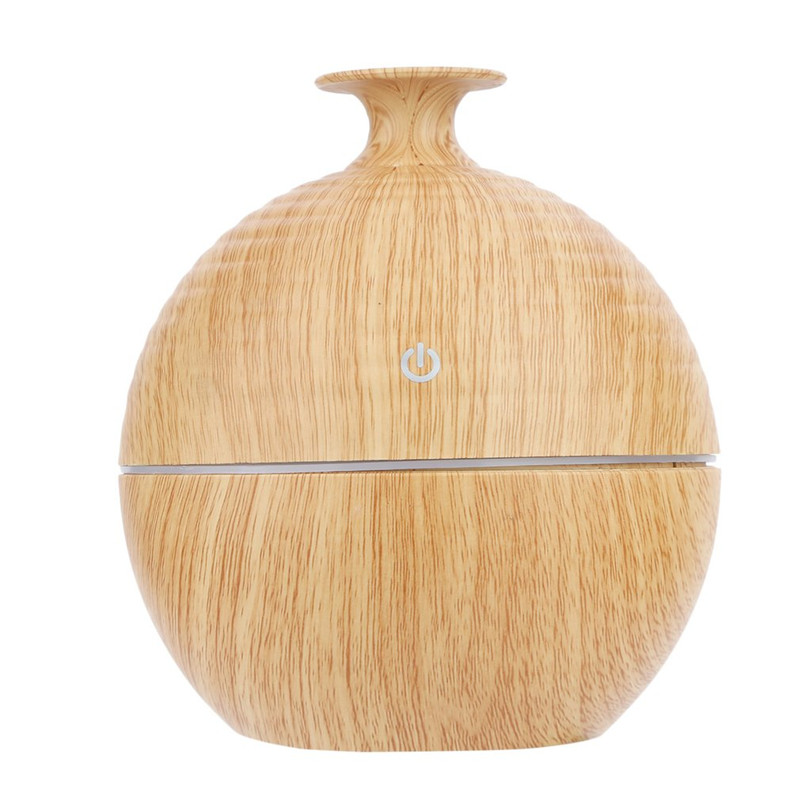 130ML USB Aroma Essential Oil Diffuser Ultrasonic Cool Mist Humidifier Air Purifier 7 Color Change LED light for Office Home ultrasonic air humidifier essential oil diffuser led light aromatherapy 7 color change electric aroma diffuser for home office