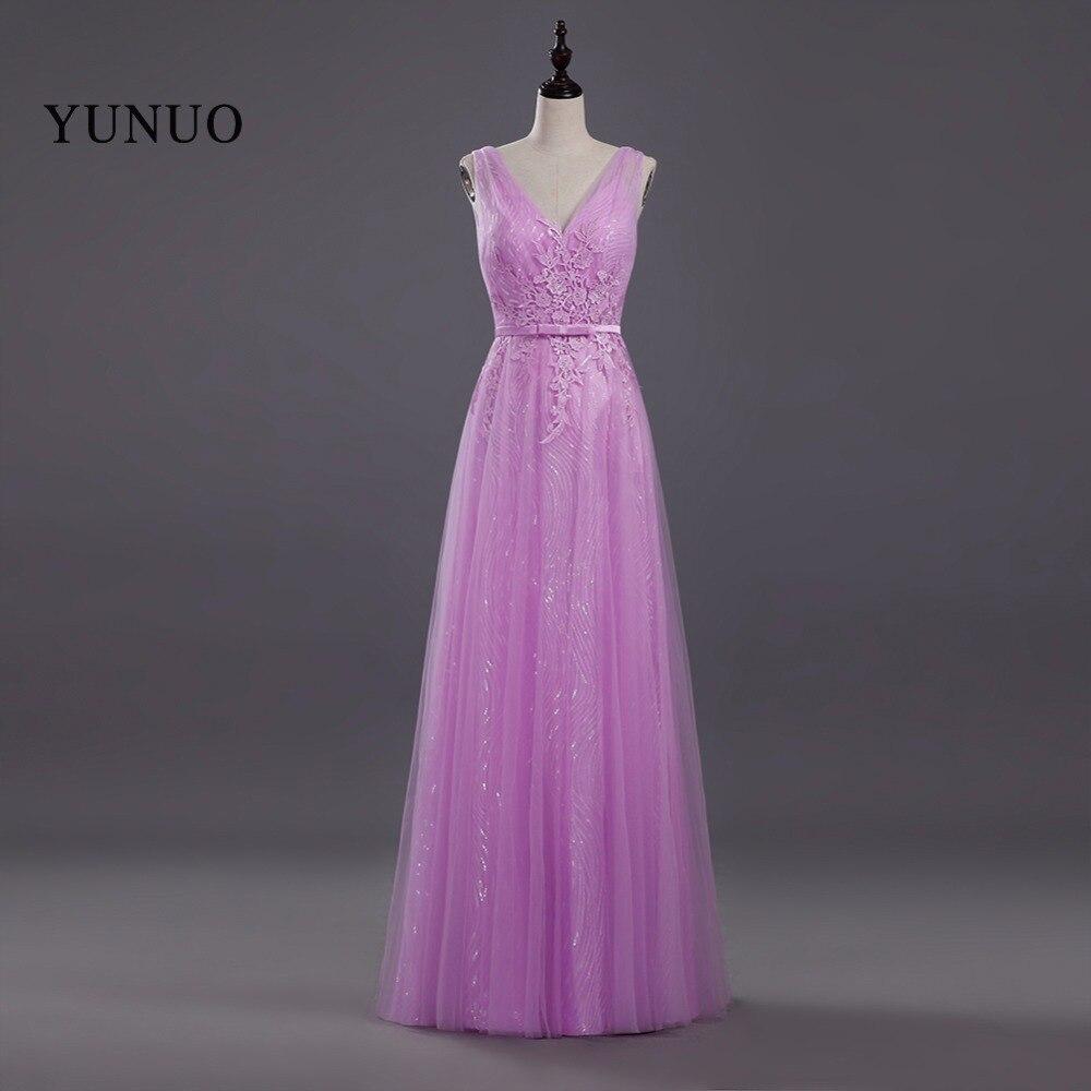 Compra largo de dama de honor vestido de novia formal de online al ...