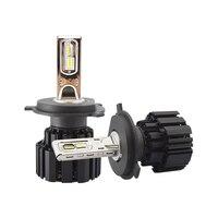 2pcs/set H4/H7/H8/H10/H16/9004/9007 P9 50W 6800LM LED Headlight Kit LED Head Lamp Light Bulb