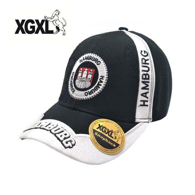 Gorra de béisbol bordada con letras de Alemania nueva gorra de béisbol de  moda de algodón b84f56adf7e