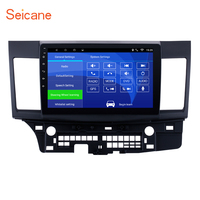 Seicane 10.1 2din Android 6.0/7.1 Touchscreen GPS Navigation Radio for 2008 2015 Mitsubishi Lancer ex with FM Bluetooth WIFI