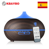 Essential Oil Diffuser 300ml Wood Grain Aroma Diffuser With Cool Mist And 7 Changing Colors Light