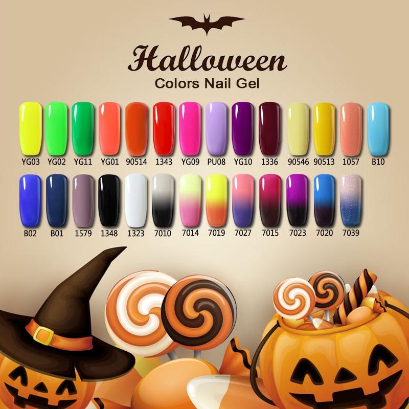 Nail Colors Halloween: Aliexpress.com : Buy Belle Fille UV Gel Nail Polish