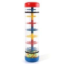 Раннее Обучение центр Baby Music rainfmaker инструмент игрушечная трубка шейкер