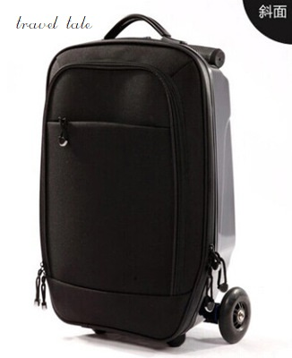 Travel tale 100% PC 21 leisure personality cool scooter Suitcase Carry on Spinner Wheel multi-function Travel Luggage Travel tale 100% PC 21 leisure personality cool scooter Suitcase Carry on Spinner Wheel multi-function Travel Luggage
