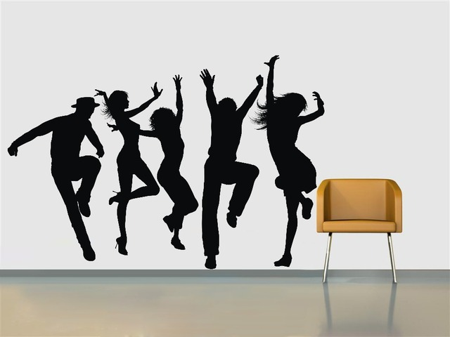 Gymnastics Wall Stickers For Office,Sports Wall Stickers For Living  Room,Modern Home Stickers