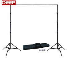 DHL FREE 10Ft X 6.5Ft BACKGROUND HOLDER 3M X 2M Adjustable Muslin Background Backdrop Support System Stand Kit Carrying Bag