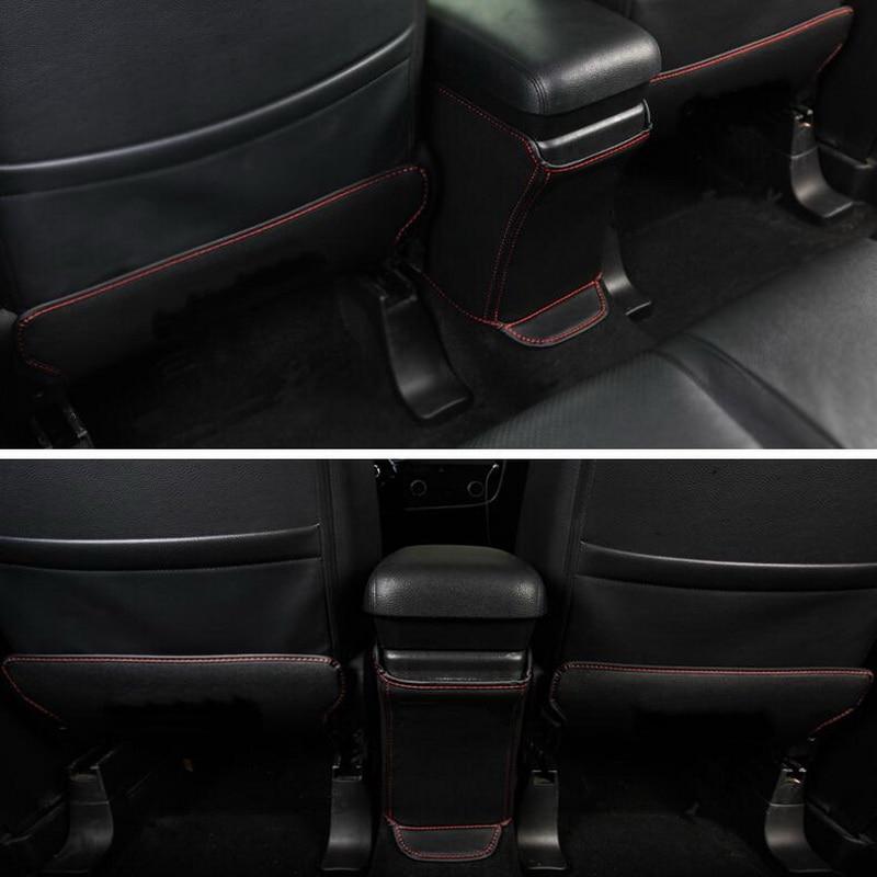 Mitsubishi Outlander 2013-17 Avtomobil Üçün 3 ədəd PU PU Dəri - Avtomobil daxili aksesuarları - Fotoqrafiya 6