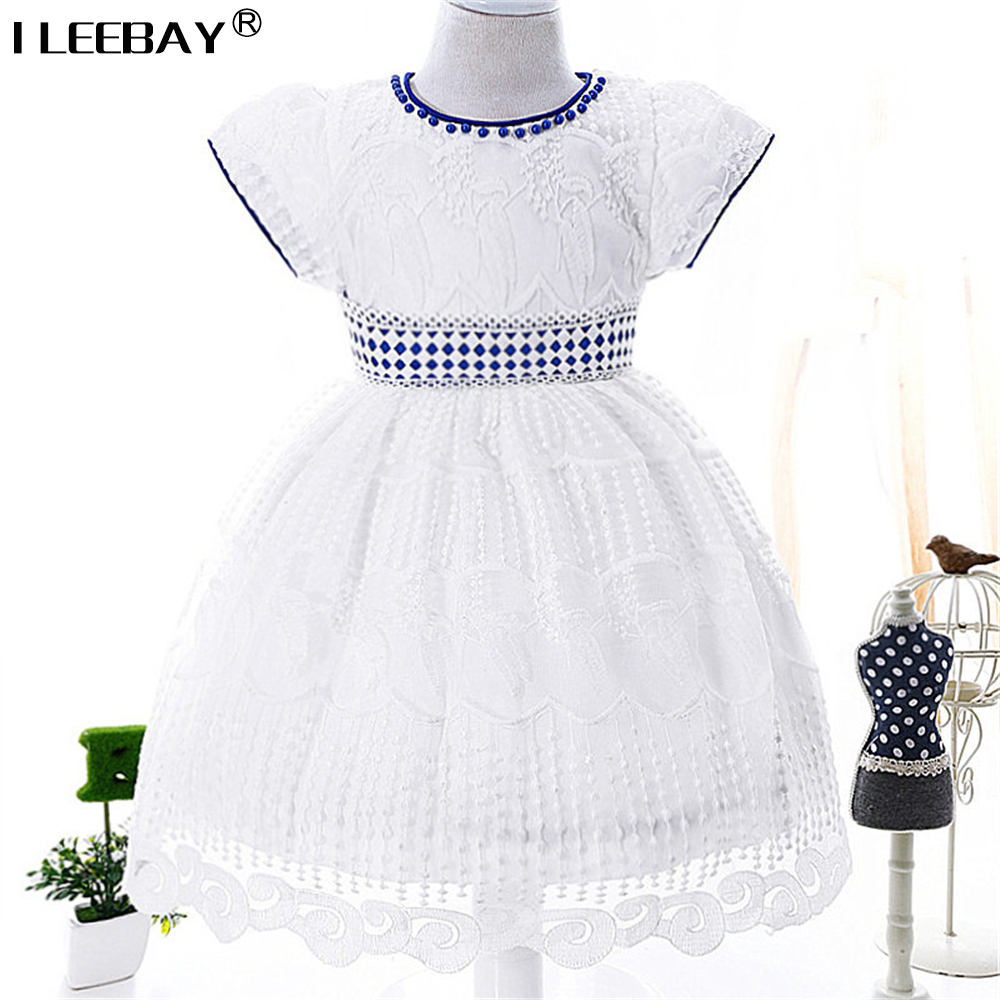 Baby Girls Dresses High Quality Baptism Dress for Infant 1 Year Birthday Costume Kids Girl Chirstening Vestido for Toddler 0-3y summer baby dress voile floral wedding dresses for girls toddler infant girl vestido infantil girls costume cute dress clothes