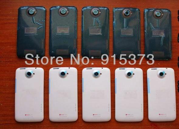 Оригинальный Черный/Белый Корпус Для HTC ONE X S720E G23 Назад Крышку Корпуса Чехол Батарейного Отсека Запасные Части; Бесплатная Доставка