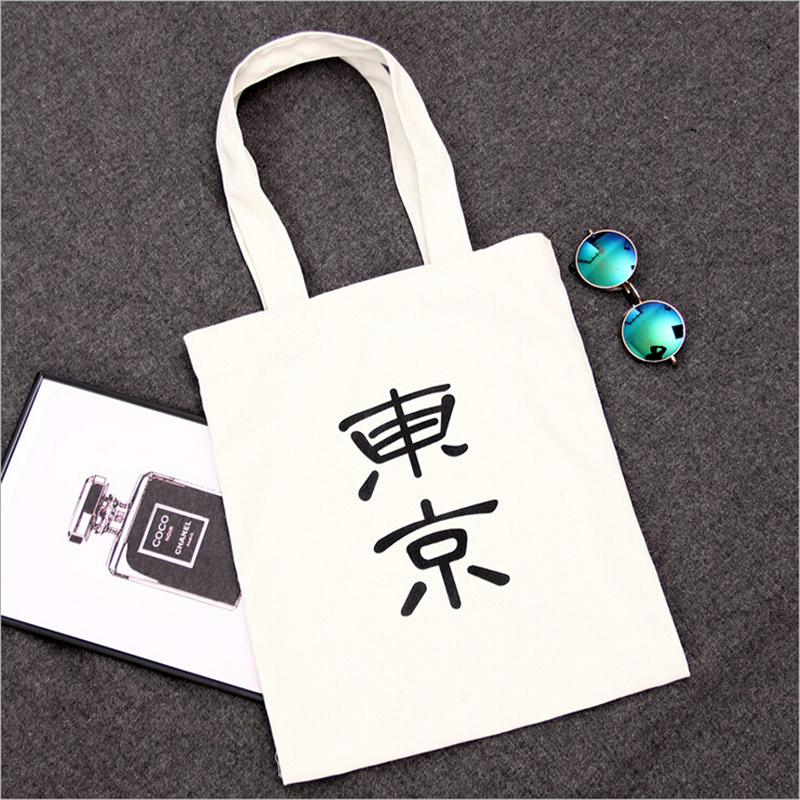 EXCELSIOR Japan Canvas Tote Shopping Bag Foldable Women's Handbags Daily Lady Shoulder Bags ECO Crossbody Beach Travel Hand Bag