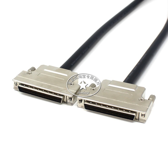 HPDB68 SCSI Cable Male to Male M/M DB68 Pin Cable Professional Customization 100% High Quality hpdb68 scsi cable male to male m m db68 pin cable professional customization 100