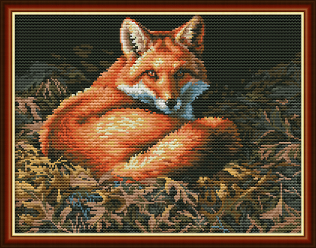 Fox Cross Stitch