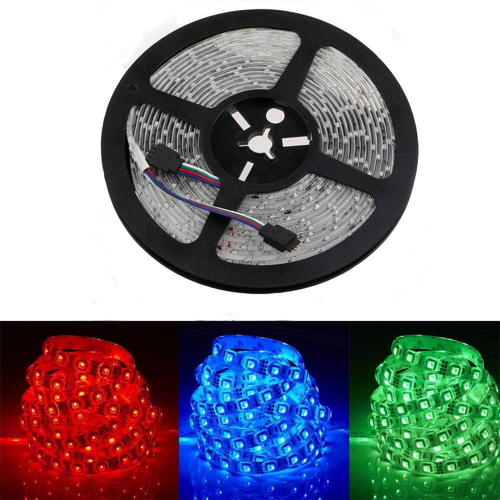 LED Strip 5050 DC12V çevik işıq 60 metr / m suya davamlı zolaq - LED işıqlandırma - Fotoqrafiya 1