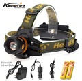 AloneFire HP82 4Modes LED Headlamp 90 Degrees Adjustable Head Lamp Waterproof Rechargeable Cycling Fishing Headlight