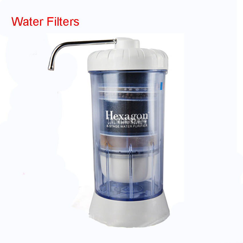 89648 Alkaline Water Ionizers with a replacement filter cartridges no need electricity 8 level Water Filters ceramic filter