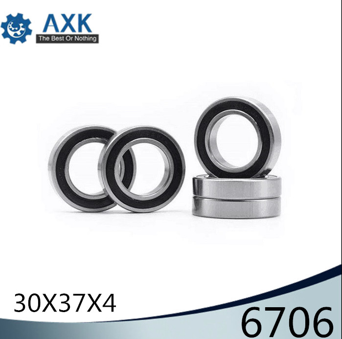 6706 Hybrid Ceramic Bearing 30*37*4 mm ABEC-1 ( 1 PC) Industry Motor Spindle 6706HC Hybrids Si3N4 Ball Bearings 3NC 6706RS6706 Hybrid Ceramic Bearing 30*37*4 mm ABEC-1 ( 1 PC) Industry Motor Spindle 6706HC Hybrids Si3N4 Ball Bearings 3NC 6706RS