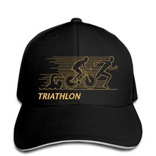 Baseball cap Triathlon - Mens Baseball caps Cycling Running Swimming Ironman Sport Bike Kit OP(China)