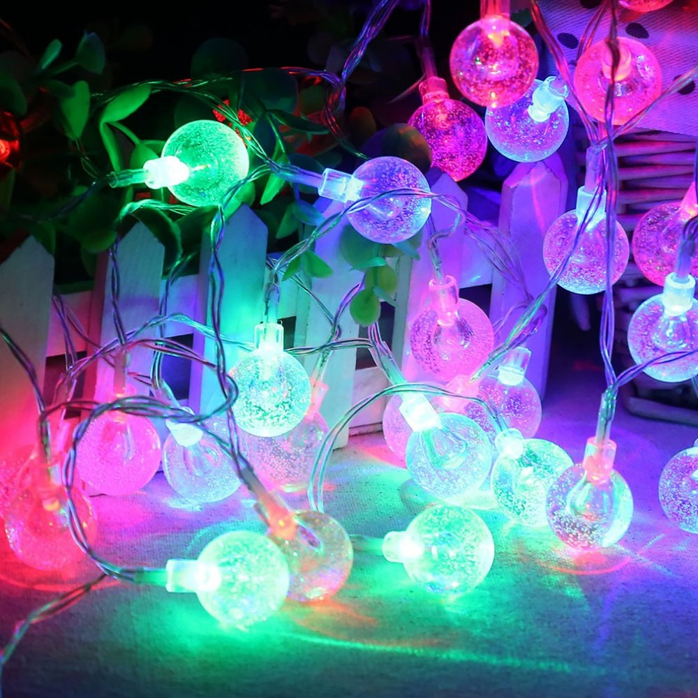 Crystal Bubble Ball String Lights Suppliers and ...   Crystal Light Show String