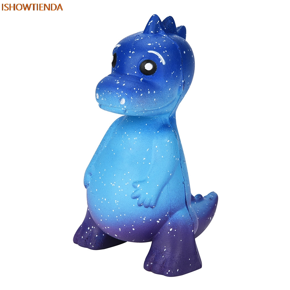 Galaxy Dinosaur Cute Rex Jumbo Squishy Jumbo Scented Cream Super Slow Rising Squeeze PU Galaxy Cute Gift Toys Stress Relief