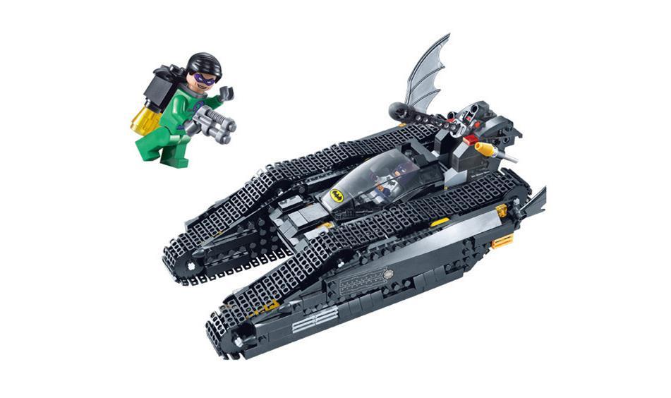 Marvel the bat tank building blocks super heroes batman - Batman playmobil ...