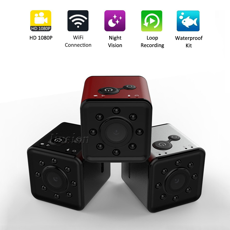 SQ13 <font><b>Mini</b></font> WiFi <font><b>Camera</b></font> Espia HD 1080P Night Vision Video Sensor Water-resistance Gizli Kamera Casus Small Pocket Cam DV Recorder image