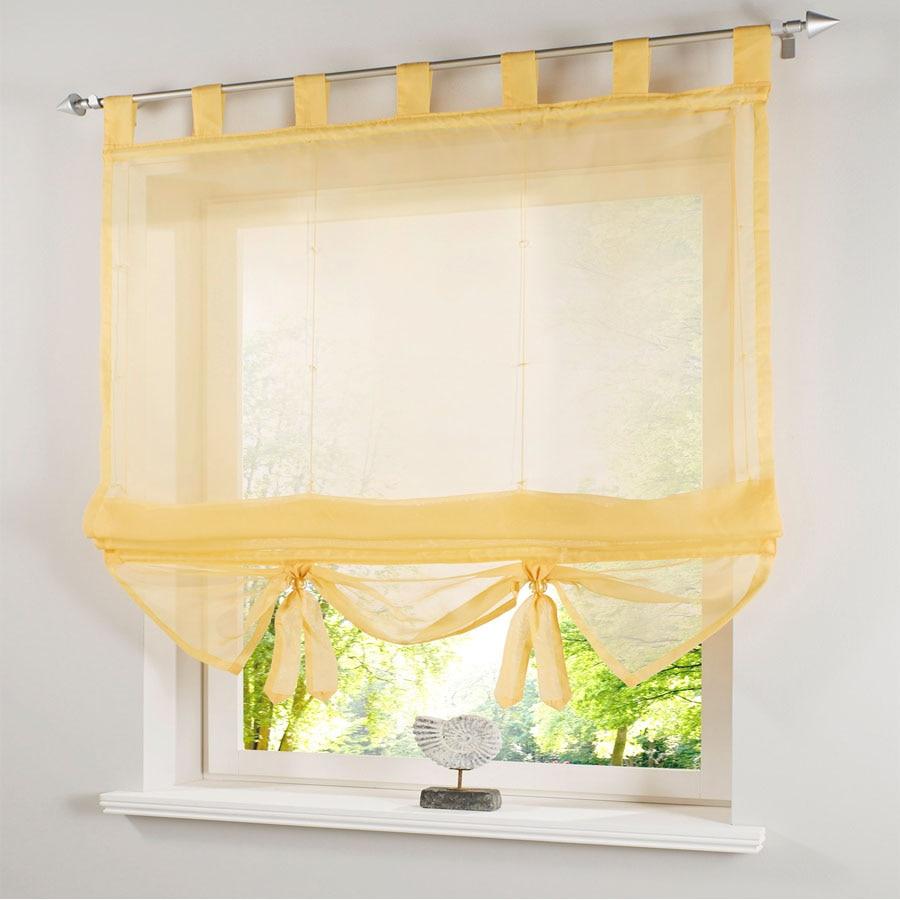Roman Curtain Styl Dandelion Amber Where Sells Curtains