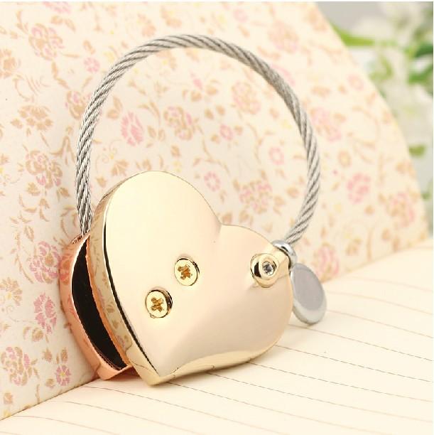 Milesi -Neues Geschenk Marke Herz Schlüsselanhänger Schlüsselbund - Modeschmuck - Foto 4