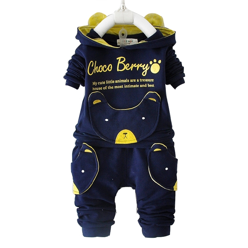 2018 Autumn New Baby Clothing Set Cotton Long-Sleeved Jacket +Pants Baby Boy Clothing Girls Suit Set 0-3 Year Children Clothes 2015 summer brand baby boy set children three piece suit set 3pcs girls new cotton spring casual clothing child year suit 3 pcs