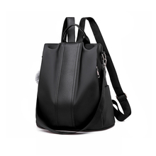 Women Backpack Leather Anti-theft Rucksack Casual Female Backpacks School Bags for Teenagers Girls Women's Backpags