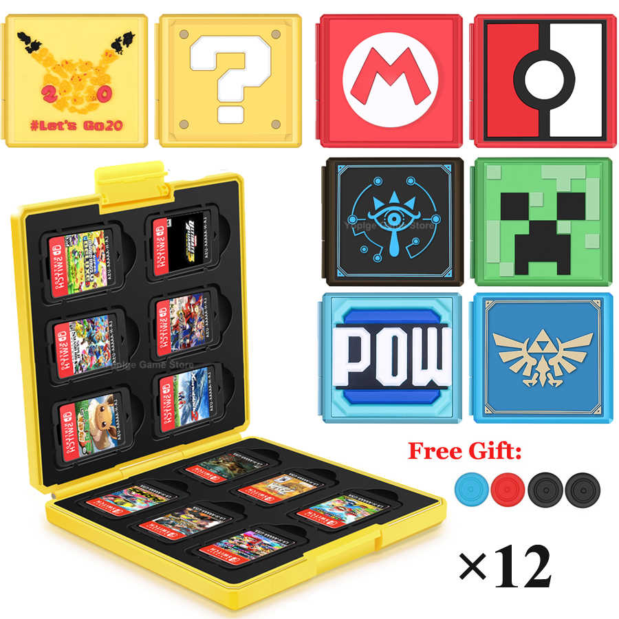 12 in 1 Nintend Switch Case Portable Nintendos Switch