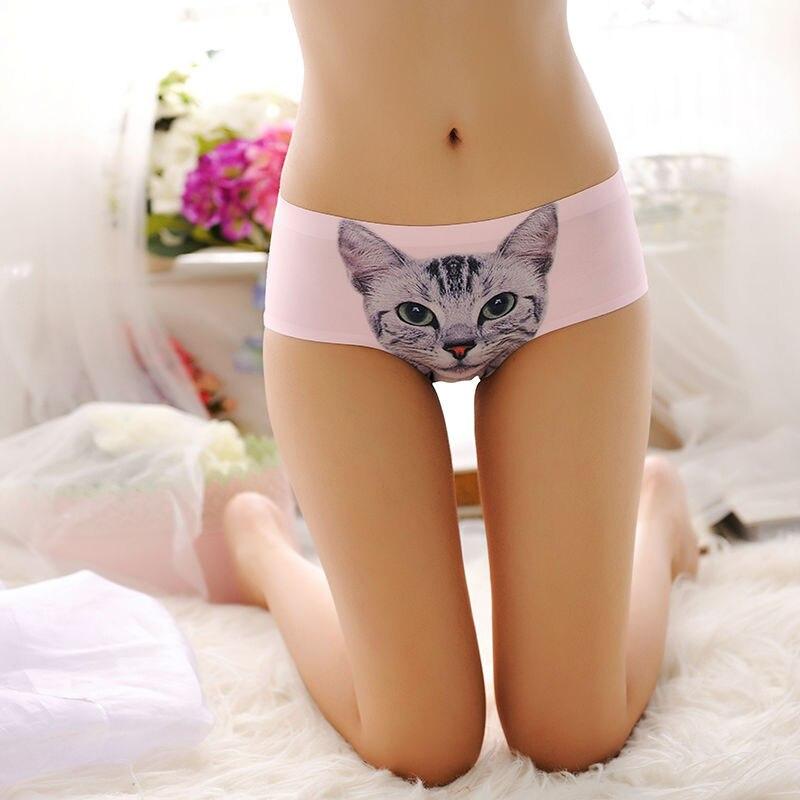 sexy pussycat panties womens Cat briefs UK anti cat meow star cat silk  women underwear brief panty on Aliexpress.com  1d43fa12d