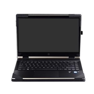 "Image 1 - Nowy projekt Case dla Hp 2019 Pavilion 14 ""pokrowiec na laptopa do Hp Pavilion X360 cabrio 14 Cal PU skóra pokrywa ochronna"