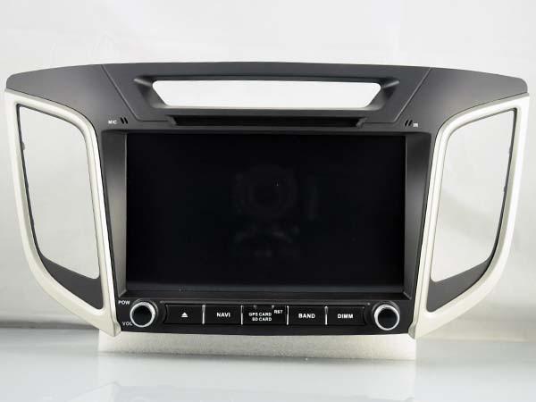 OCTA base android 8.0 voiture dvd gps lecteur 1024*600 Pour HYUNDAI IX25 CRETA 2014 2015 gps de navigation de voiture stéréo audio vidéo lecteur