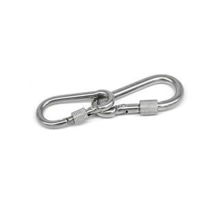 Buckle Hook Outdoor Hung A Bearing Safety Self-Locking Mountaineering Stainless-Steel
