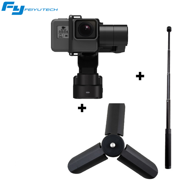 FEIYU TECH FY WG2X Waterproof Gopro Wearable Gimbal Stabilizer for Gopro hero and Gopro Session with mini tripod PK WG2