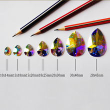 2154TH Sewing Crystal AB Rhinestones Flat Back Strass Sew On Stones K9 Glass Crystals Beads For DIY Wedding Dress цены