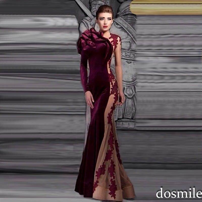 Popular Long Sleeve Evening Dresses-Buy Cheap Long Sleeve Evening...