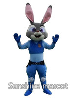 Attention!!! New Type Judy From Crazy City Movie Mascot Costume Adult Fancy Dress Mascot Animal Costume For Kids Costume Costume