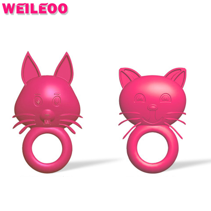Soft Material Animal Shape Sex Shop Cockring Penis Ring -4804