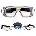 Profissional de Futebol óculos de Basquete Esportes óculos Óculos de Proteção dos olhos óculos de armação pode coincidir com lente óptica para miopia nearsighted